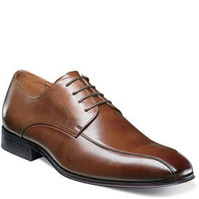 The featured product is the Corbetta Bike Toe Oxford in Cognac.
