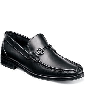 Westbrooke Moc Toe Bit Loafer in Black for 49.90 dollars.