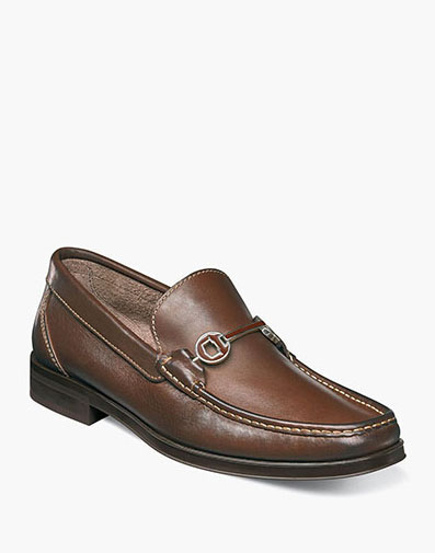 Westbrooke Moc Toe Bit Loafer in Brown for 49.90 dollars.