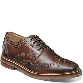 Estabrook  Wingtip Oxford in Brown CH for $79.90