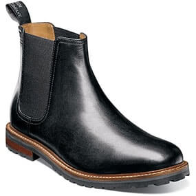 Estabrook  Plain Toe Gore Boot in Black for $79.90