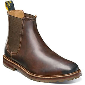 Estabrook  Plain Toe Gore Boot in Brown CH for $79.90