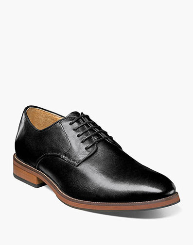 Blaze Plain Toe Oxford in Black for 125.00 dollars.