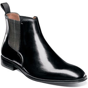 Belfast Plain Toe Gore Boot in Black for 49.90 dollars.