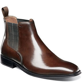 Belfast Plain Toe Gore Boot in Brown for $99.90