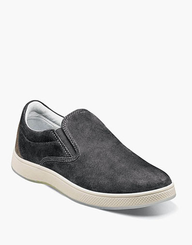 Edge  Double Gore Slip On in Charcoal for 49.90 dollars.