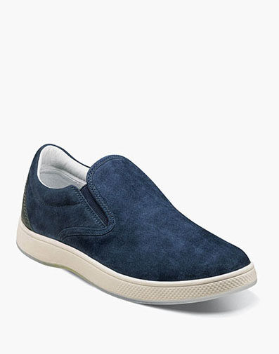 Edge  Double Gore Slip On in Navy for 49.90 dollars.