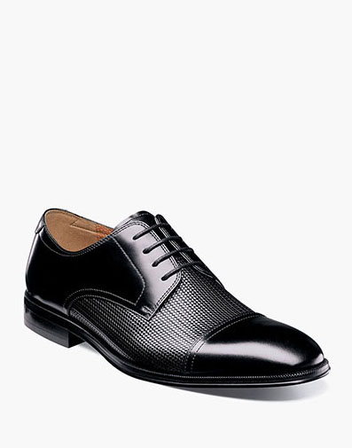 Belfast Cap Toe Oxford in Black for 94.90 dollars.