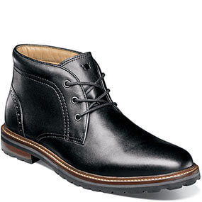 Estabrook Plain Toe Chukka Boot in Black for $94.90