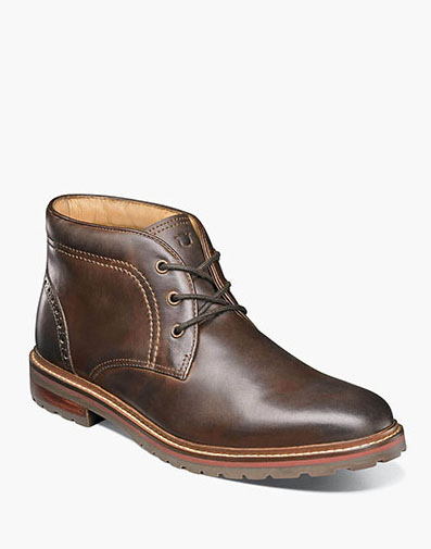 Estabrook Plain Toe Chukka Boot in Brown CH for $125.00