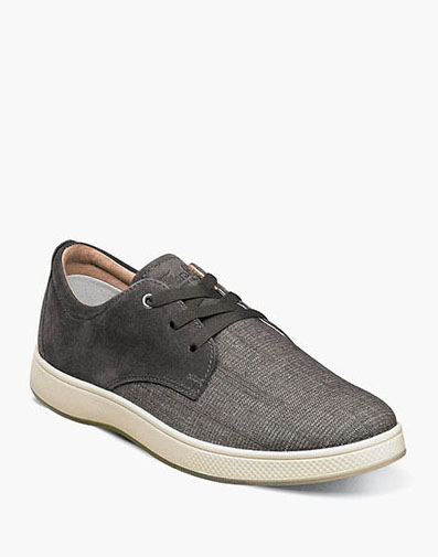 Edge 3 Eye Elastic Lace Oxford in Charcoal for 49.90 dollars.