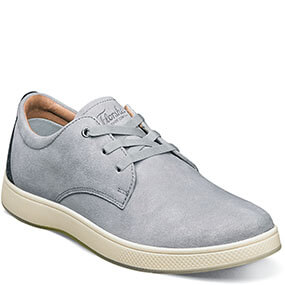 Edge 3 Eye Elastic Lace Oxford in Gray for 100.00 dollars.