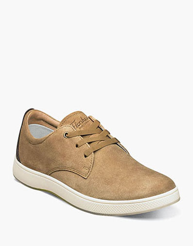 Edge 3 Eye Elastic Lace Oxford in Chestnut for $79.90