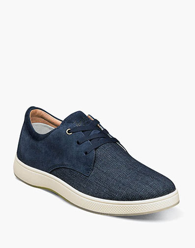 Edge 3 Eye Elastic Lace Oxford in Navy for $79.90