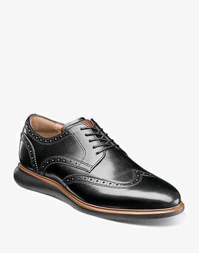 Fuel Wingtip Oxford in Black for $120.00