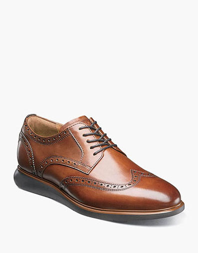 Fuel Wingtip Oxford in Cognac for $120.00