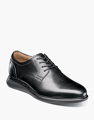 Fuel Plain Toe Oxford in Black for 120.00 dollars.