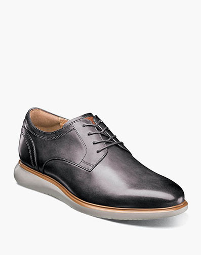Fuel Plain Toe Oxford in Gray for $120.00