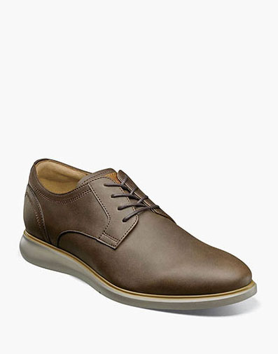 Fuel Plain Toe Oxford in Brown CH for 120.00 dollars.
