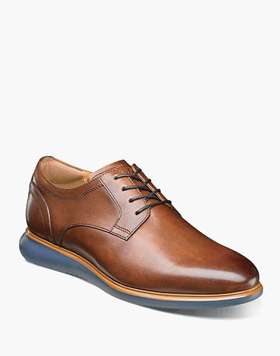 Fuel Plain Toe Oxford in Cognac for $120.00