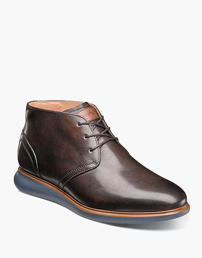 Fuel Plain Toe Chukka Boot in Brown for 99.90 dollars.