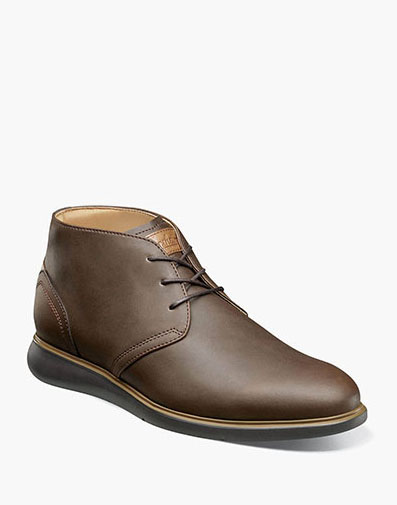 Fuel Plain Toe Chukka Boot in Brown CH for 125.00 dollars.