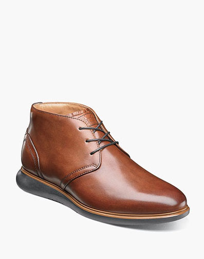 Fuel Plain Toe Chukka Boot in Cognac for $125.00