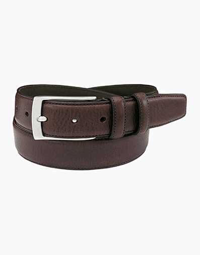 Valhalla Genuine Italian Leather Belt in Brown for $45.90