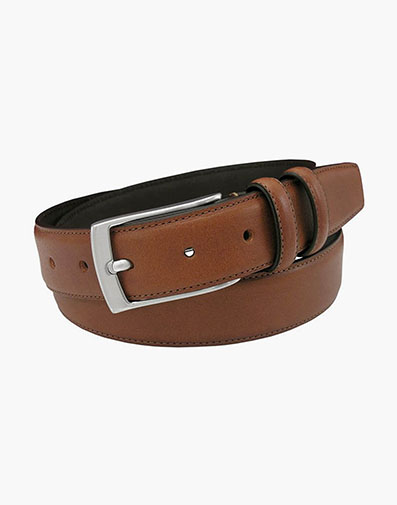 Valhalla Genuine Italian Leather Belt in Cognac for $65.00