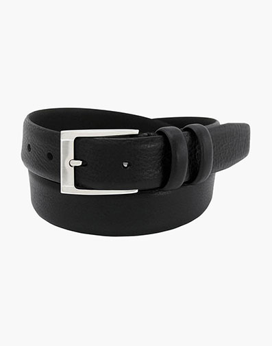 Gauthier Genuine Italian Leather Belt in Black for $65.00