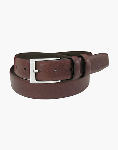 Gauthier  Genuine Italian Leather Belt in Brown for $45.90