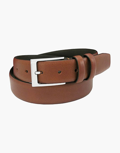 Gauthier Genuine Italian Leather Belt in Cognac for $65.00