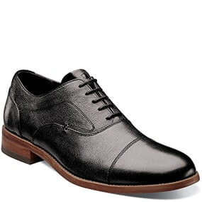 Rockit Cap Toe Oxford in Black for $125.00