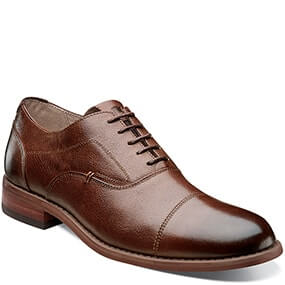 Rockit Cap Toe Oxford in Brown for $125.00