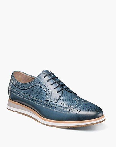 Flux  Wingtip Oxford in Indigo for $99.90
