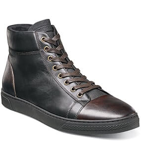 Forward Hi Lace Up Sneaker in Black and Brown for $59.90