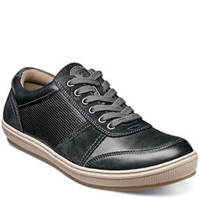 Venue  Moc Toe Lace Up Sneaker in Black for $59.90