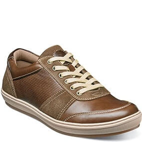 Venue  Moc Toe Lace Up Sneaker in Cognac for $39.90