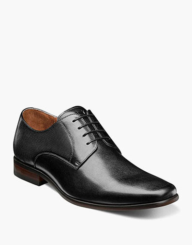 Postino  Plain Toe Oxford in Black for $110.00