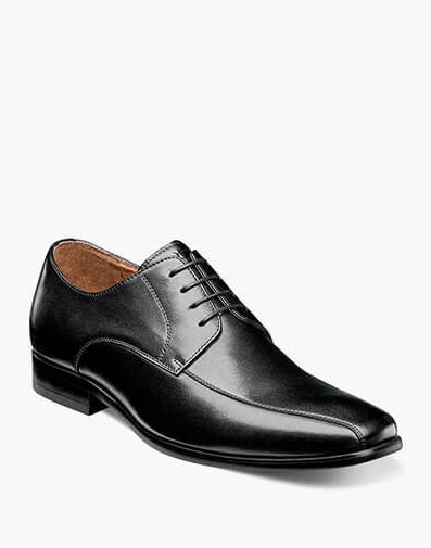 Postino  Bike Toe Oxford in Black Smooth for 115.00 dollars.