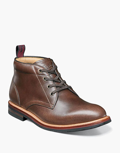 Foundry Plain Toe Chukka Boot in Brown for 129.90 dollars.