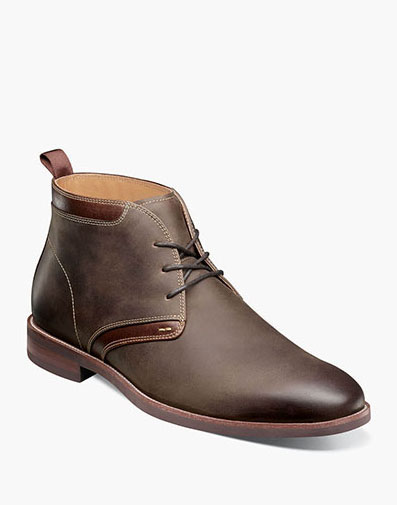 Uptown Plain Toe Chukka Boot in Brown CH for 125.00 dollars.