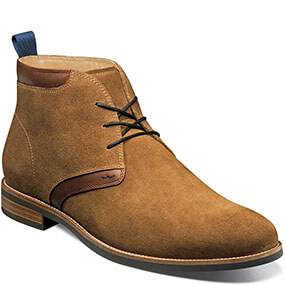 Uptown Plain Toe Chukka Boot in Mocha for $99.90