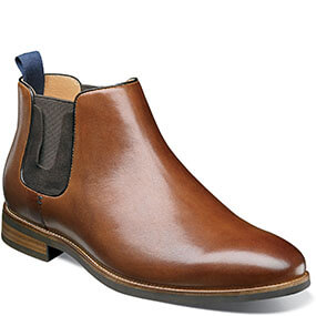 Uptown Plain Toe Gore Boot in Cognac for $89.90