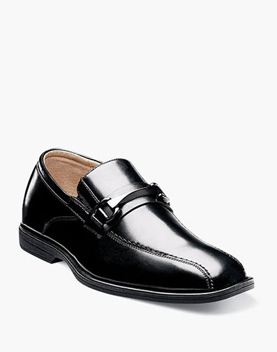 Reveal Jr. Bike Toe Bit Loafer in Black for $60.00