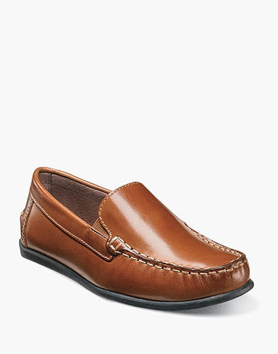 The featured product is the Jasper Jr Moc Toe Venetian Loafer.