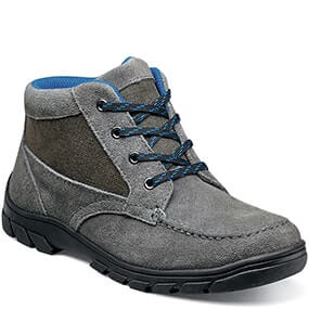 Trektion Jr. Moc Toe Lace Up Boot in Dark Gray for $49.90
