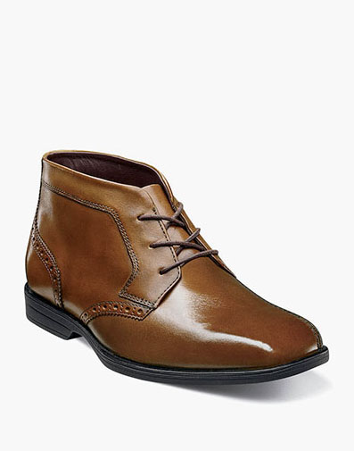 Reveal Jr. Plain Toe Chukka Boot in Cognac for $65.00