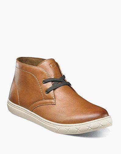 432f9523d7f0 Curb Jr. Plain Toe Chukka Boot in Cognac for  60.00