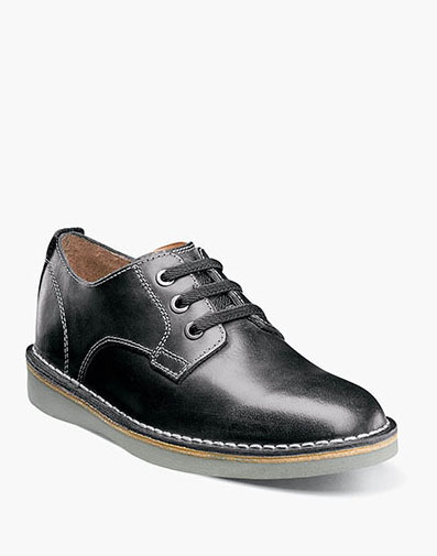 Navigator Jr. Plain Toe Oxford  in Black CH for 59.95 dollars.